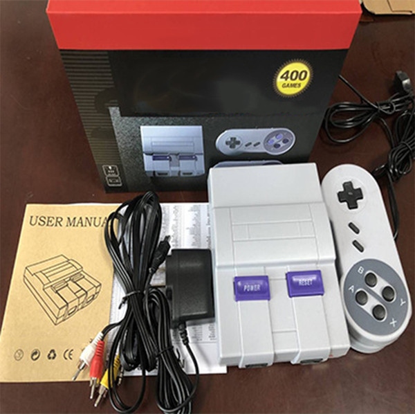 AV Out TV Game Console can store 400 games Video Handheld for SNES games consoles HOT SALE
