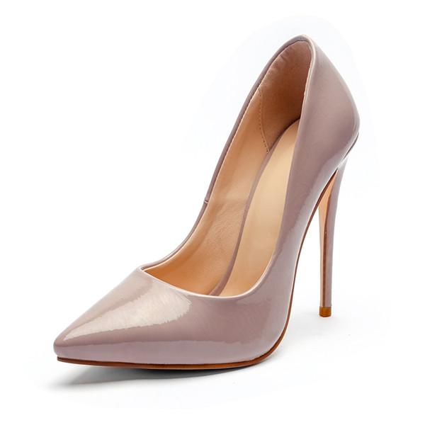 2019 ENMAYLA Punta estrecha casual Slip-On zapatos de mujer tacón alto mujer tacones tamaño 34-43 ZYL2128