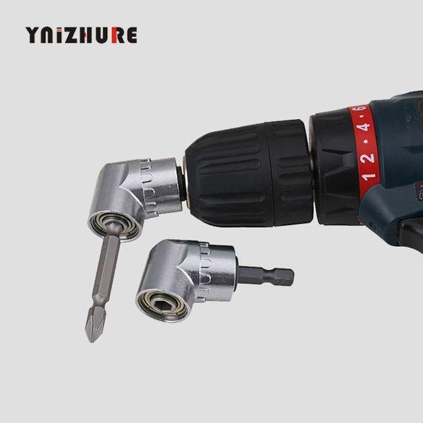"1//4/"" Hex Screwdriver Socket Extension 105° Angle Drill Bit Holder Screw Adaptor"