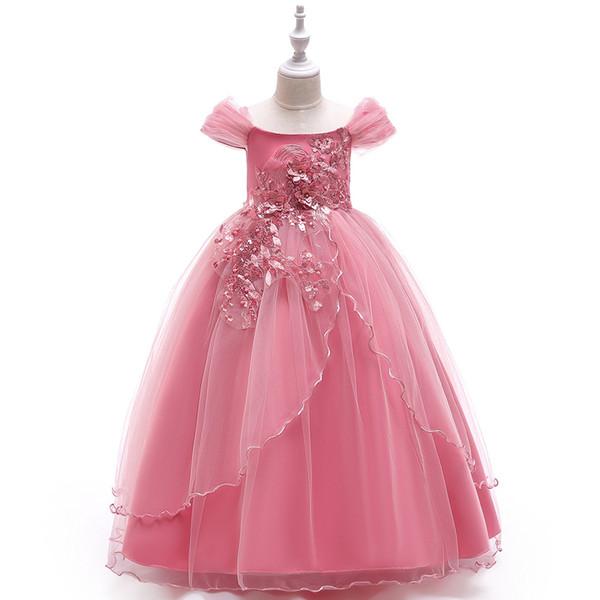 От 5 до 14 лет. Летние платья для девочек, детская праздничная одежда, праздничная пачка, детская детская одежда для подростков, R1AA806DS-31