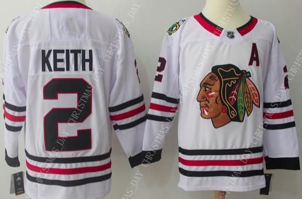 sports shoes d812f 05fc4 2019 Custom DUNCAN KEITH WHITE MENS JERSEYS NEW CHICAGO BLACKHAWKS Stitch  Personality Any Number Name From Christmas_day, $32.65   DHgate.Com