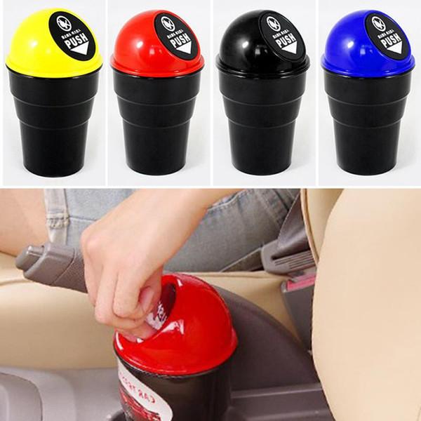 Convenient Mini Auto Car Home Trash Can Garbage Ash Can Cup Dustbin Home Desktop Car sui0239