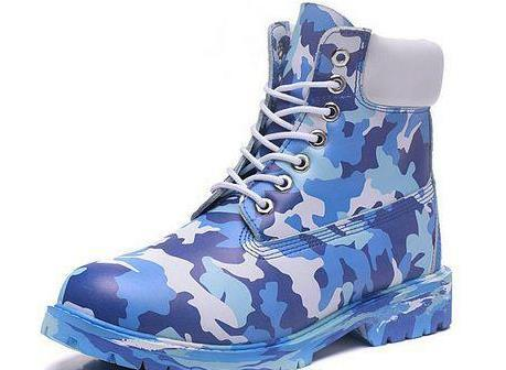CUSTOM TIMBER BOOTS 10061 MEN BLUE ARMY 6 INCH HIKING FOOTWEAR MENS LEATHER BOOT ON SALE WATERPROOF SHOES OUTLET FREE QUICK EXPRESS ON SALE