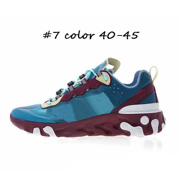 # 7 couleur 40-45