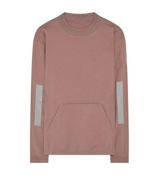 18FW maglione girocollo europeo di lusso riflettente felpa riflettono girocollo leggero mens maglioni firmati HFWPWY258