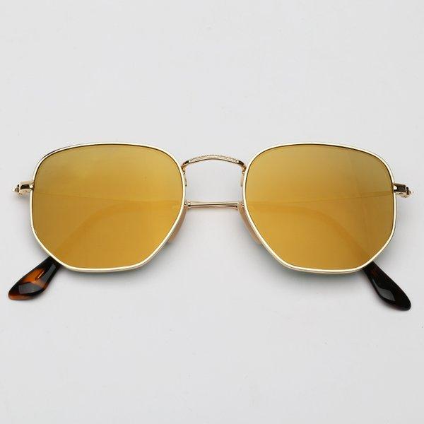 001/93 espelho marrom-dourado