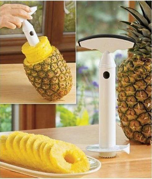 1Pcs Pineapple Peeler Corer Slicer Cutter Fruit Pineapple Apple Kitchen Utensil Gadget Hot 70 80