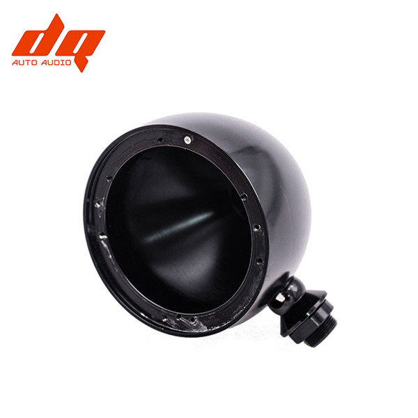 top popular 2 Pcs 3.5 Inch Car Midrange Speaker Bracket Modified Aluminum Alloy Speaker Boxes Base Horn Support Shell Cup Auto accessories 2021