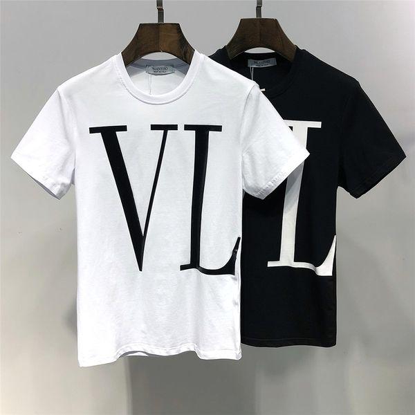 2019 sommer herbst designer t shirts für männer tops tiger kopf brief t shirt herren clothing marke langarm t-shirt frauen tops m-3xl
