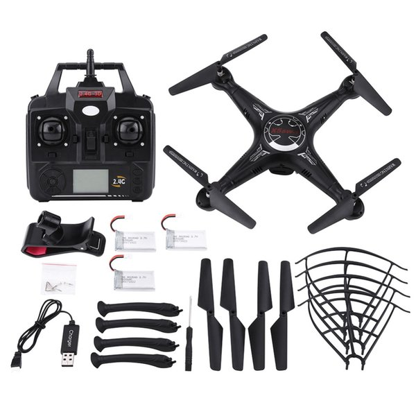 2.4GHz Wifi Remote Control Quadcopter RC Helicopter Drone Toy With Camera Headless Mode One Key Return 360-degree Rolling