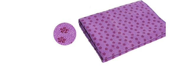 Cobertores de ioga de microfibra tapete yoga pano cobertor de deslizamento de fitness yoga pano de toalha de fábrica por atacado