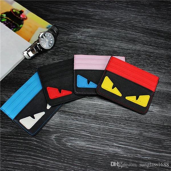 Slim card holder slim banque carte de crédit ID Card Holder Case Sac Portefeuille Titulaire