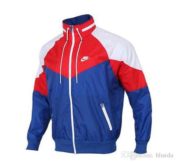 Fashion stand collar mens designer jackets new long sleeve patchwork windbreaker for men autumn sport men jacket