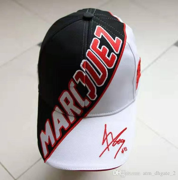 Мотокросс всадник / линия Локомотив / бейсбол гонки утиный язык паркур шляпа косой M-Q-Z правый нижний подпись 001