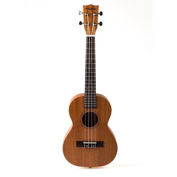 """best selling NAOMI Ukulele 26"""" Tenor Ukulele For Students Kid Hawaii Ukulele Acoustic Cutaway Guitar"""