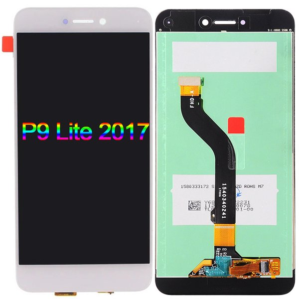 For Huawei P8 Lite 2017 LCD display Touch Screen Digitizer Assembly Replacement For Huawei P8 Lite 2017 Mobile Phone P9 Lite 2017 LCD