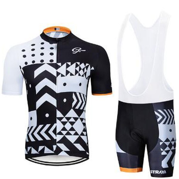 Factory direct sales Pro Team Summer STRAVA Cycling Jersey Team Short Sleeve Ropa Ciclismo Maillot Quick Dry Bycicle Clothing 9D Gel Pad