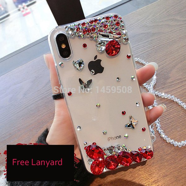 Per LG G4 Stylus 2 Plus G5 G6 G7 Nexus 5X X Style Cam Power 2 K8 K10 2017 2018 V10 V20 V30 Q6 Q7 Q8 Cassa strass Big Diamond