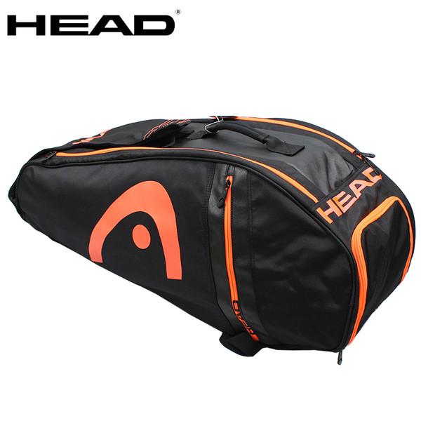 New Original Head Tennis Bag Badminton Racket Bag Double Shoulder Multi-function For 6-9 Rackets