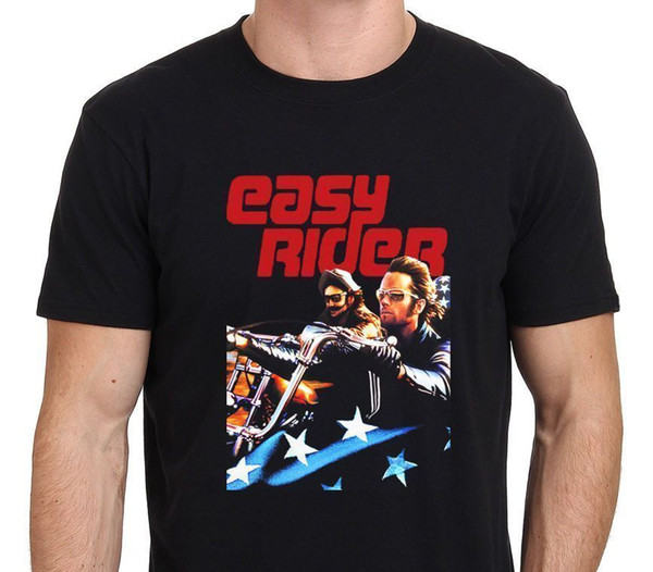 Easy Rider Vintage Movie American Biker T-ShirtFunny free shipping Unisex Casual top