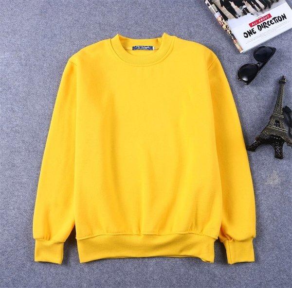 노란 스웨터