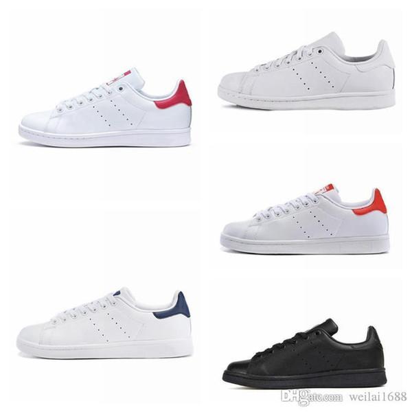 Unisexe 2019 stan chaussures mode smith Marque Top qualité mens femmes nouveau cuir casual MAN mode luxe hommes femmes designer sandales chaussures