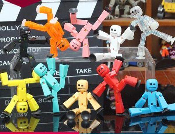 Sauger Kawaii Anima Figur In Action Figure Saugnapf Lustige Verformbare Klebrige Roboter Spielzeug Beste Geschenke Für Kinder