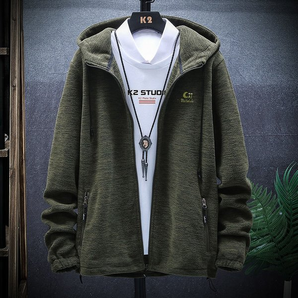 Jacket Male 2019 Self-cultivation Youth Increase Down Even Hat Loose Coat