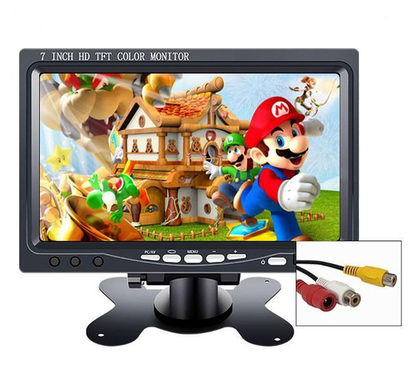 """best selling 7 inch mini portable hd lcd TFT CCTV security screen car monitor 10.1"""" small game monitor pc for Windows 7 8 10 PS3 4 Xbox360"""