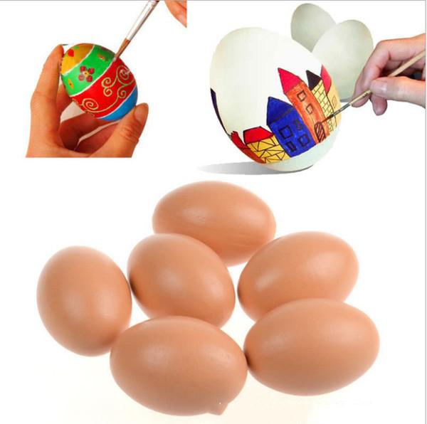 2019 niños simulados huevos DIY creativo pistas de pollo Cocina Pretend Toy niños Educativos de madera para niños