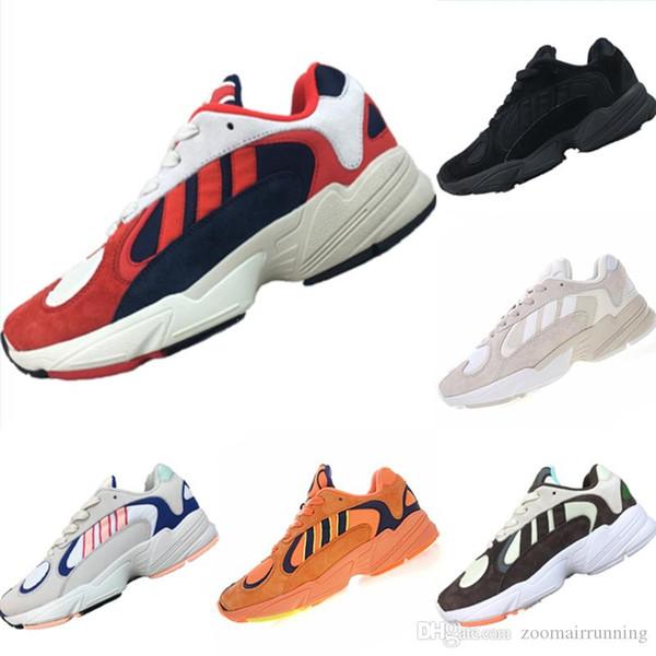 Avec box 2019 New Yung 700 - Chaussures de course respirantes en cuir et en résille - Chaussures de sport Dragon Ball x Yung 700