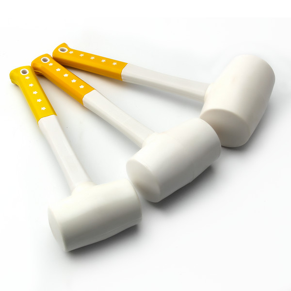 new removable rubber hammer double face soft tap mallet woodworking hand tools