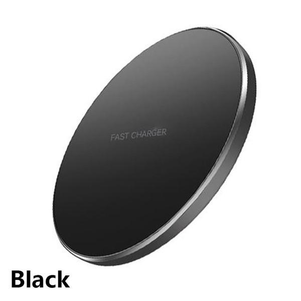 Cargador inalámbrico negro