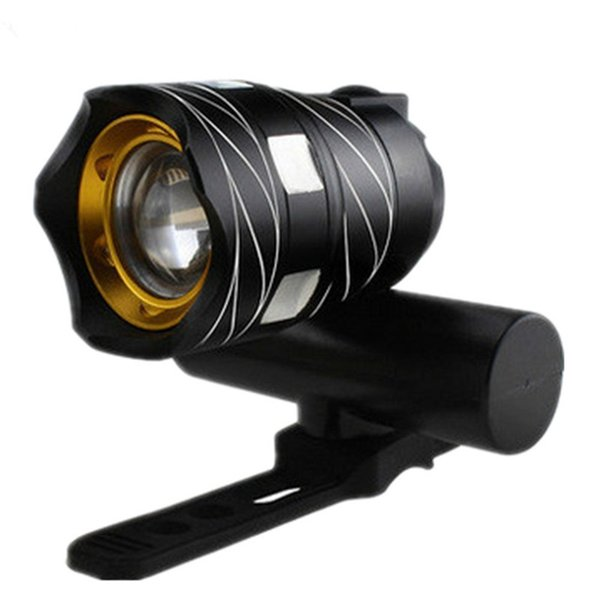 Bicycle Head Light Flashlight With 3 Modes Torch USB T6 LED Cycling Bike Rechargeable Bicycle Accessories Hot Sale #24507
