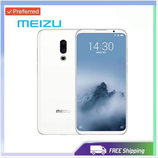 Разблокирована в заводских условиях Meizu 16-й плюс 16 плюс 4G LTE Snapdragon 845 Octa Core Adreno 630 6 ГБ 128 ГБ 6,5