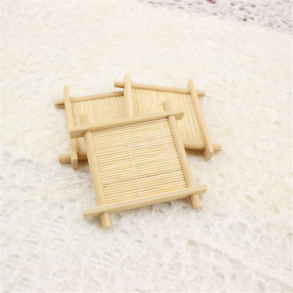 Practical Natural Bamboo Soap Dish Wooden Soap Tray Dish Storage Holder Plat Storage Soap Rack Plate Box Container
