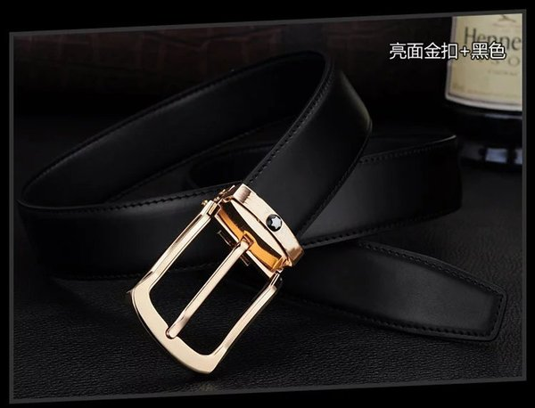 Brand men belt 2018 good brand designer Fashion belts for men cinto masculino genuine leather male belt Cowskin ceinture homme.