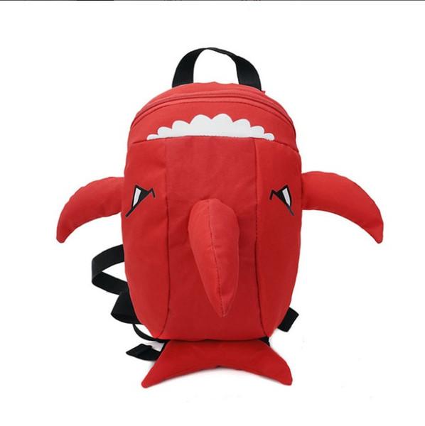 2019 новые мальчики девочки мультфильм акула сумки детский сад рюкзаки детские школьные сумки 4 цвета