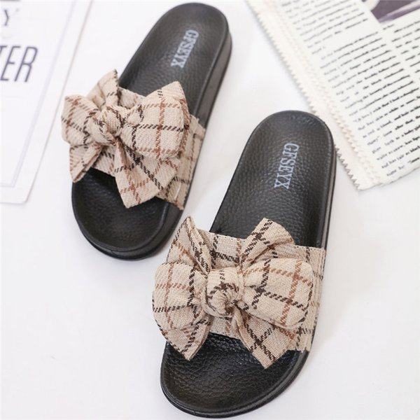 Women's Flip-flops Shoes Ladies Summer Flowers Home Beach Shoes Sandals Flip Flops Slippers Round Toe Casual Home #B