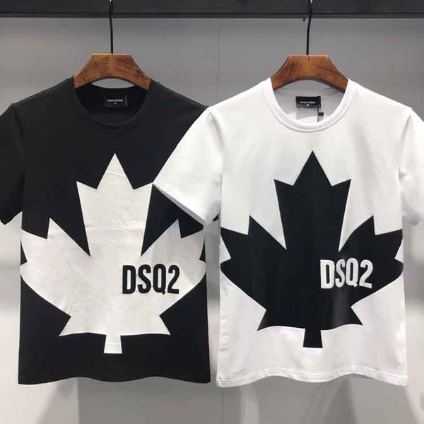 Européen Américain Hommes Designer T-shirts Nouvel Été Solide T-shirt Hommes De Mode Broderie T-shirt Homme Top Qualité 100% Coton Tees D2 # 722
