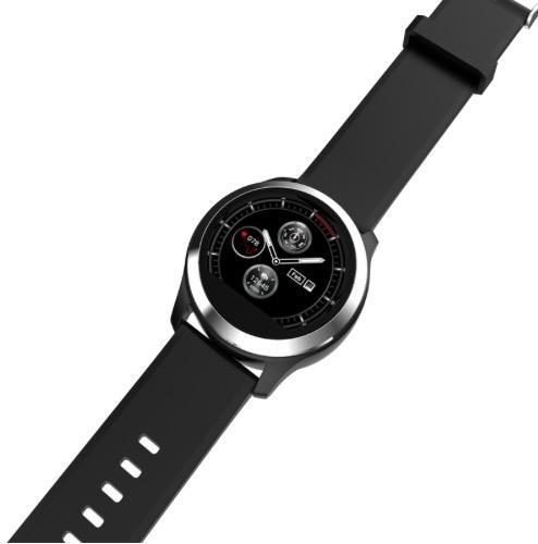 Braccialetto intelligente Z03 Schermo a colori rotondo da 1,22 pollici Bluetooth Impermeabile ECG + braccialetto a frequenza cardiaca PPG Cura per la famiglia che condivide dati in tempo reale TWS