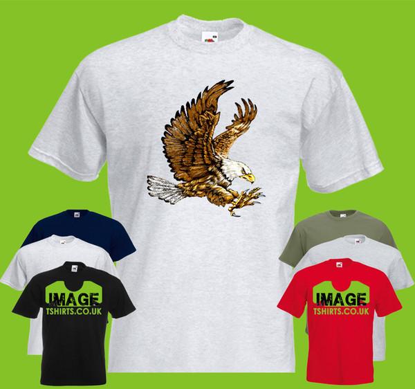 Full Eagle Mens PRINTED TSHIRT T-SHIRT Bird Animal Flying