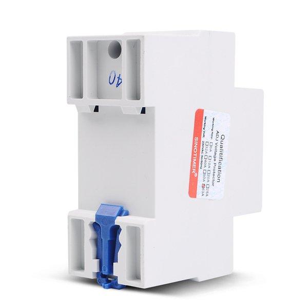 강걸틱 장비 공급 회로 차단기 63A 220V DIN 레일 조정 가능한 복구 재 연결 해제 및 전압 보호 장치 ...