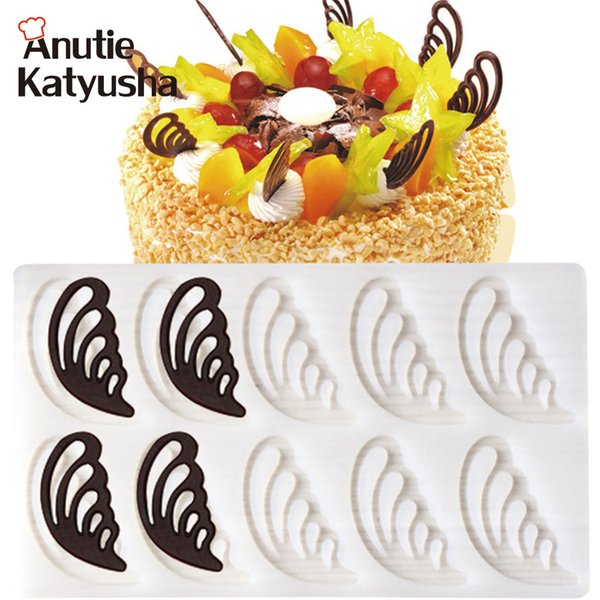 1Pc Angel Wings Shaped Silicone Cake Mold Cake Decorating Tools Fondant Chocolate Mould Pastry Baking Tool Kitchen Bakeware