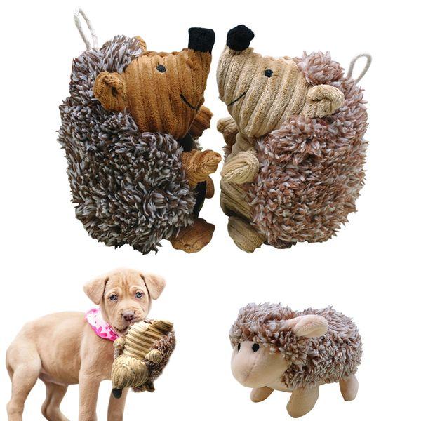Perro Squeak Sound Toy Juguete interactivo para perros de peluche Juguetes para masticar para Samll Perros grandes Jugar Entrenamiento divertido jouet chien
