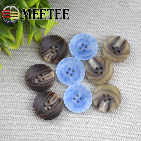 C3-24 moda de alta-qualidade de comércio de quatro olhos botões de uréia casaco terno botões decorativos costura