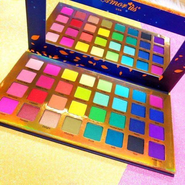 Marque Amorus 32 couleurs EYESHADOW palette Se souvenir de moi 32 Ombre Pressé édition limitée Pigment Palette