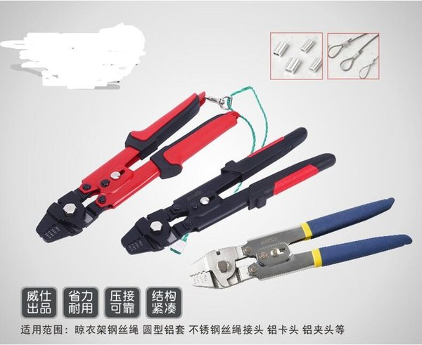 best selling Free shipping Wire Crimping Tool with Cutting Function and Safety Lock 0.1mm to 2.2mm Multifunction hand tool Wire cutter