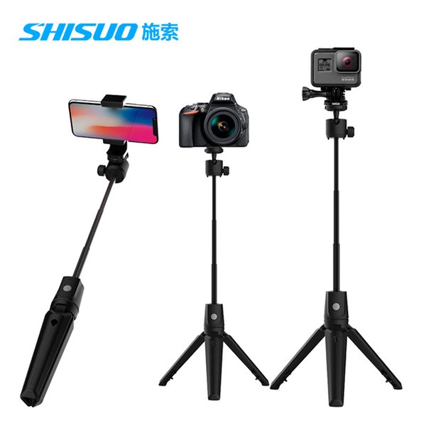 New K20 aluminium alloy Bluetooth self-timer pole universal self-timer for mobile phone camera