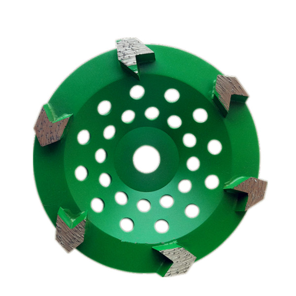 2019 Gd34 Diamond Grinding Cup Wheel 5 Inch Floor Grinding Pad With 6 Arrow Segments For Concrete Terrazzo Floor From Pubao 344 51 Dhgate Com